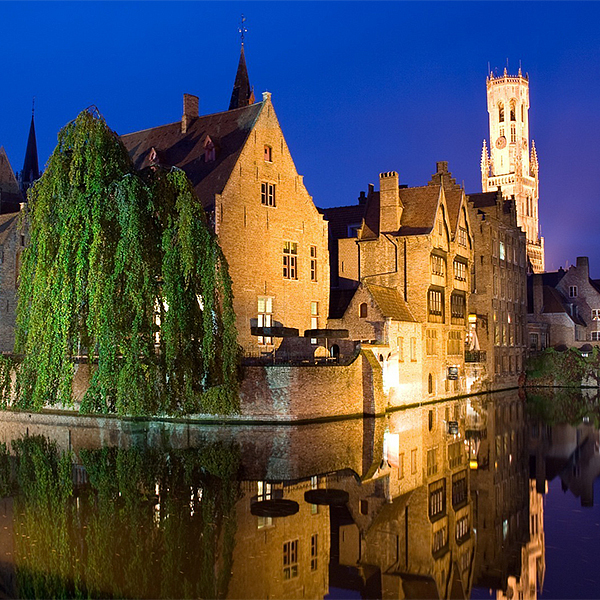 Rozenhoedkaai te Brugge