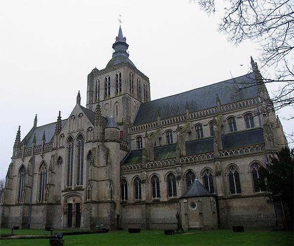 De kerk van Poperinge