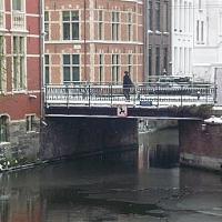 De Hoofdbrug te Gent