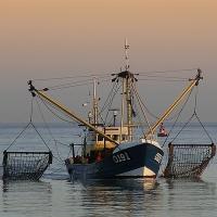Vissersboot te Oostende